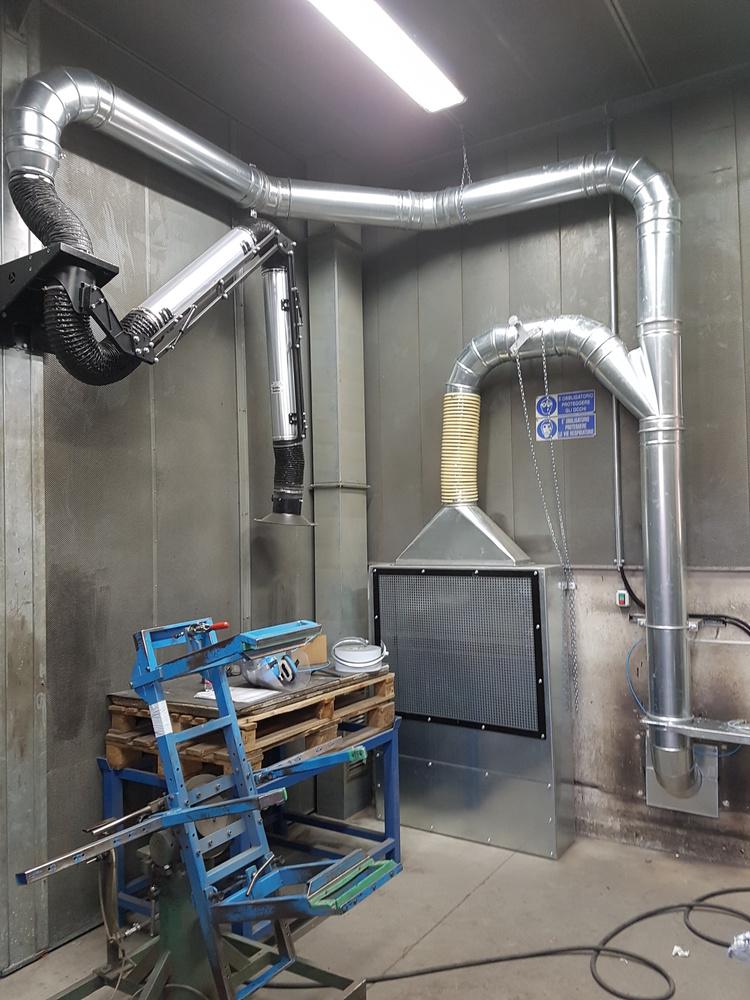 Impianti di filtrazione su smerigliatura sbavatura sabbiatura - 7