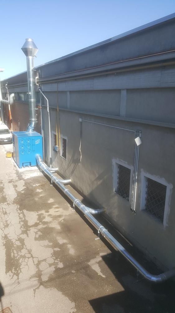Impianti di filtrazione su smerigliatura sbavatura sabbiatura - 6
