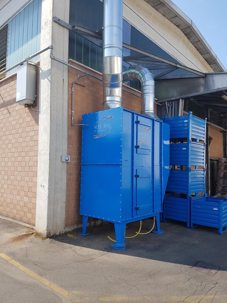 Impianti filtrazione nebbie oleose - 2