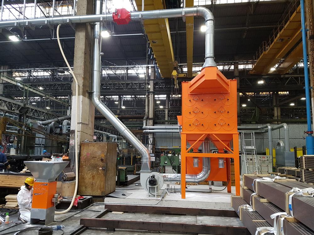 Impianto filtrazione metallizzazione  - 8