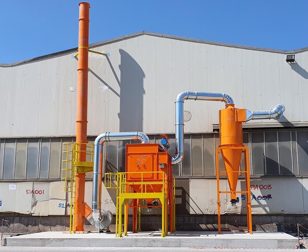 Impianti di filtrazione su smerigliatura sbavatura sabbiatura - 1