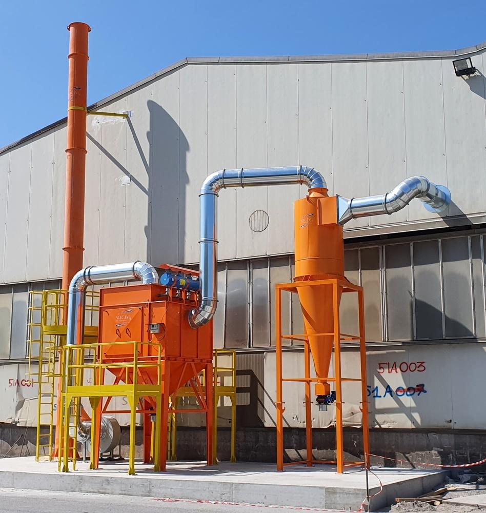 Impianti di filtrazione su smerigliatura sbavatura sabbiatura - 8