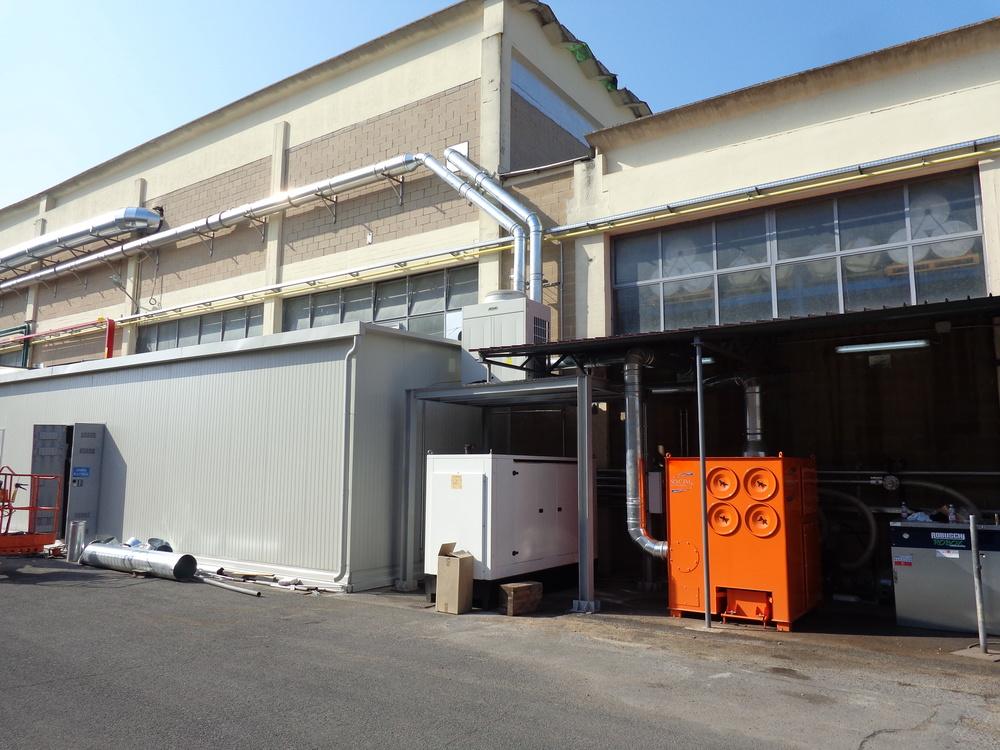 Impianto filtrazione polveri chimiche - 2