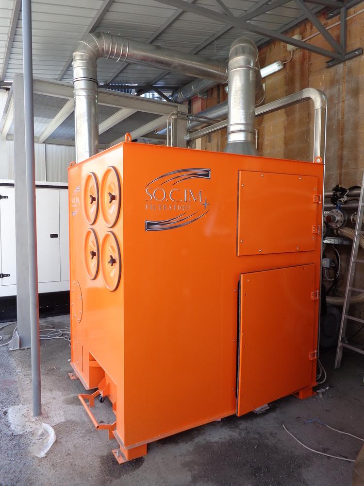 Impianto filtrazione polveri chimiche - 1