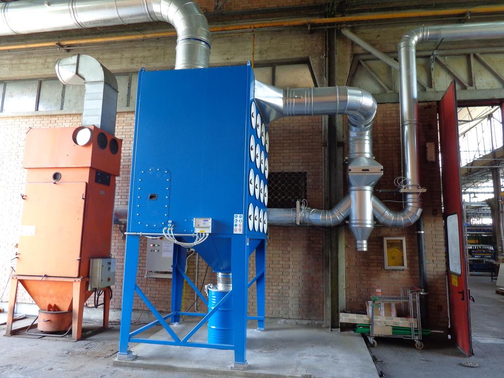 Impianti di filtrazione taglio termico - 2