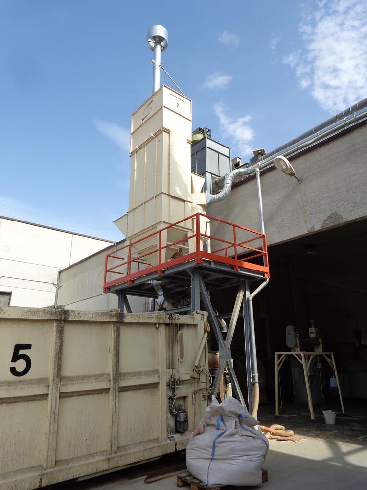 Impianti filtrazione lavorazione sementi - 2