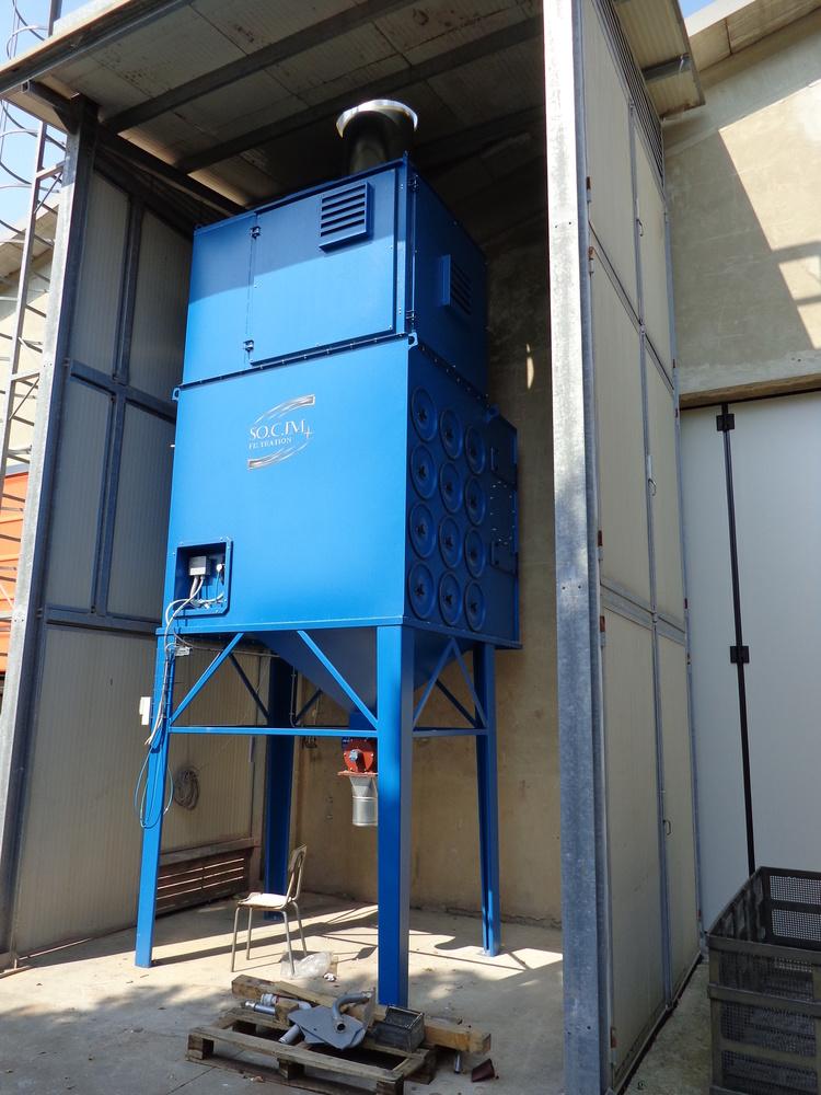 Impianti di filtrazione su smerigliatura sbavatura sabbiatura - 9