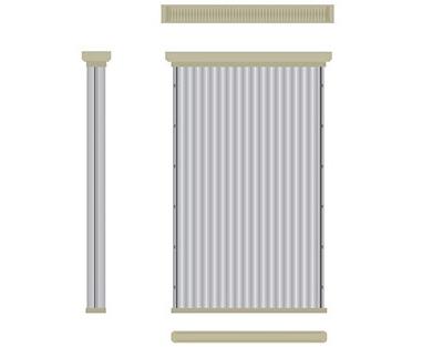Pannelli FLAT FILTER 1050 - 2