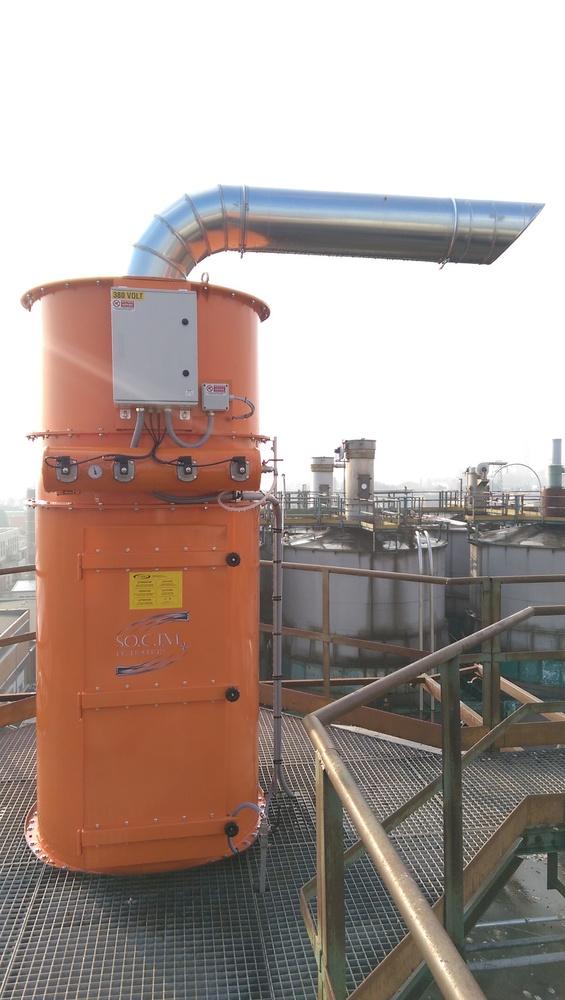 Impianto filtrazione polveri chimiche - 4