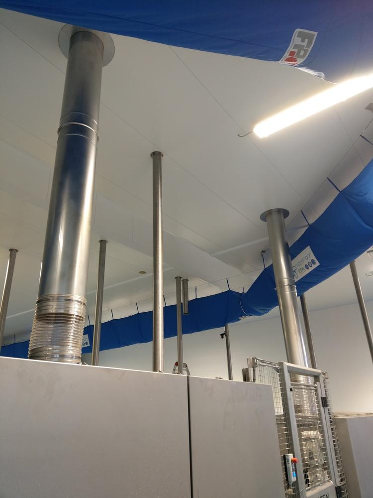 Impianto Filtrazione polveri formaggio - 3