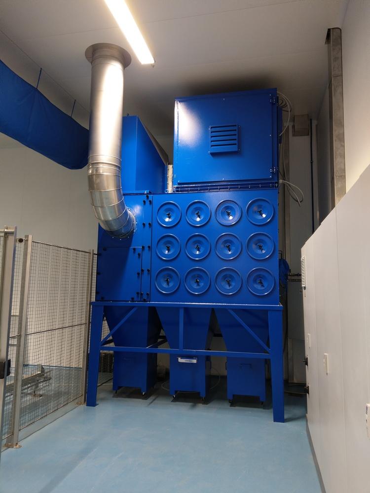 Impianto Filtrazione polveri formaggio - 1