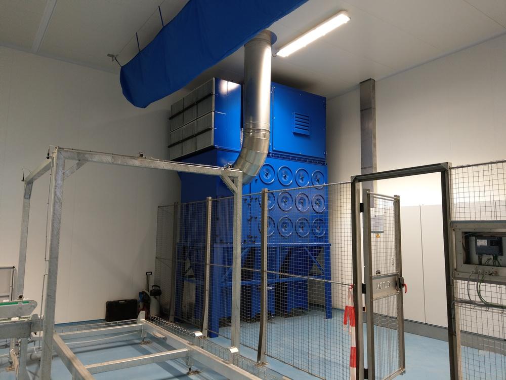 Impianto Filtrazione polveri formaggio - 2