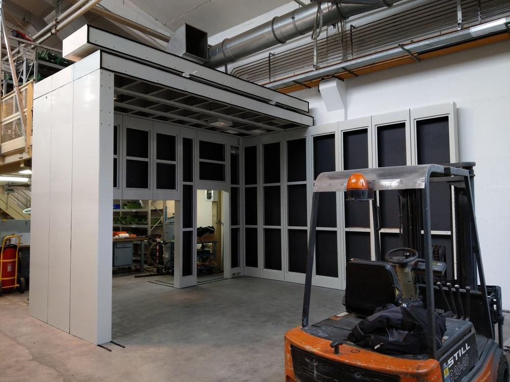 Cabina robot di metallizzazione - 16