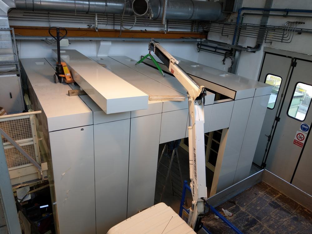 Cabina robot di metallizzazione - 13