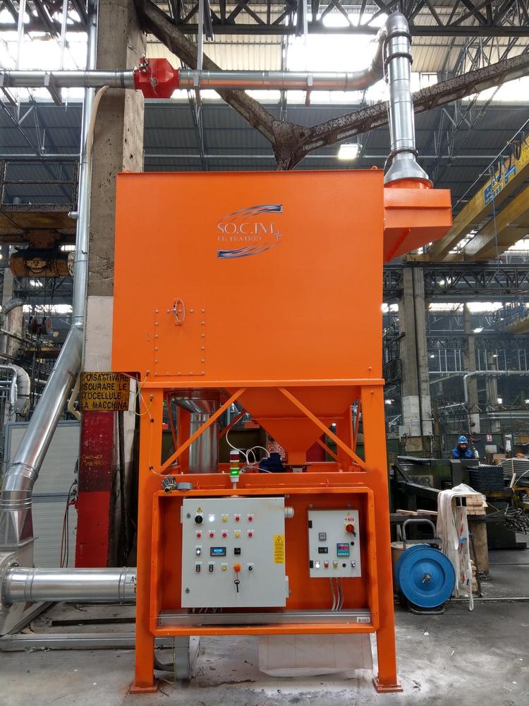 Impianto filtrazione metallizzazione  - 1