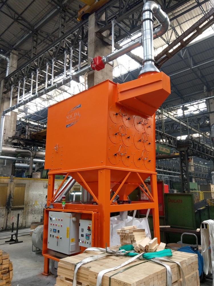 Impianto filtrazione metallizzazione  - 3