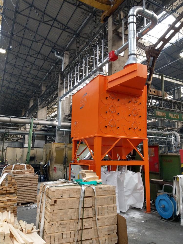 Impianto filtrazione metallizzazione  - 4