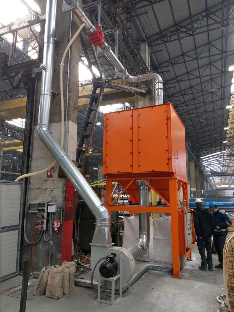 Impianto filtrazione metallizzazione  - 7