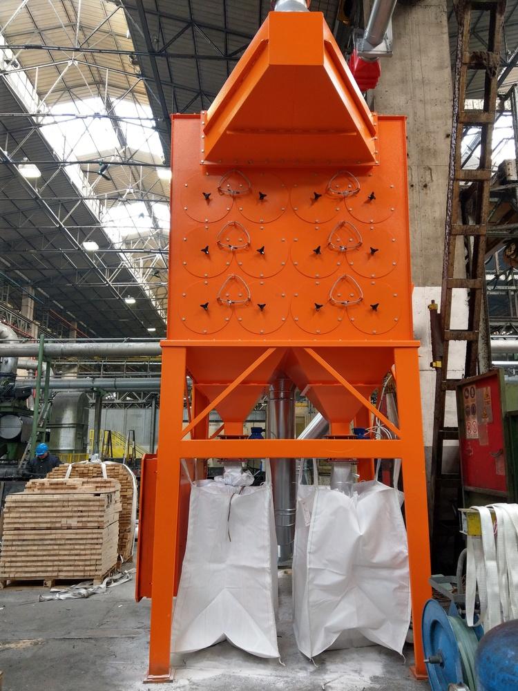 Impianto filtrazione metallizzazione  - 5