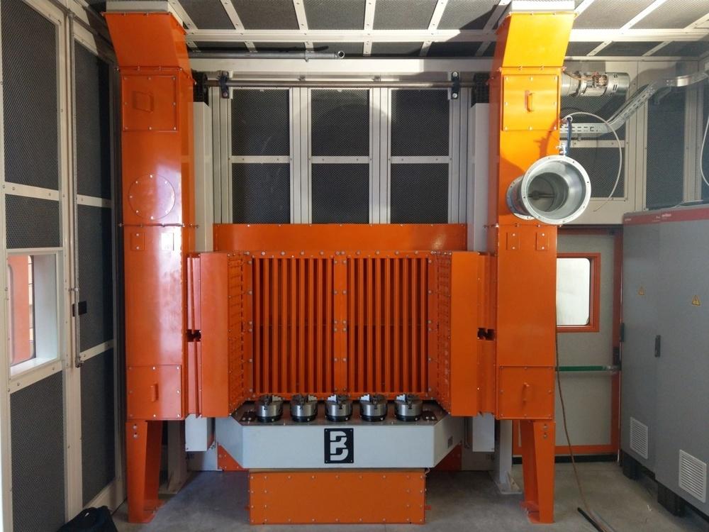 Cabina robot di metallizzazione - 11