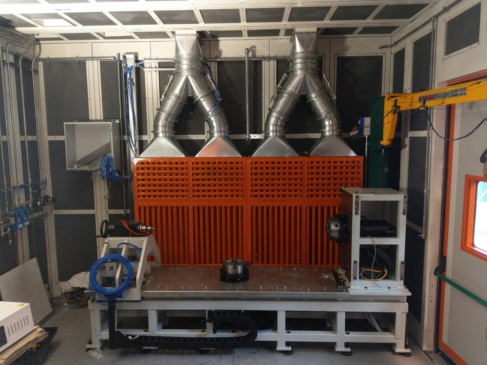 Cabina robot di metallizzazione - 12