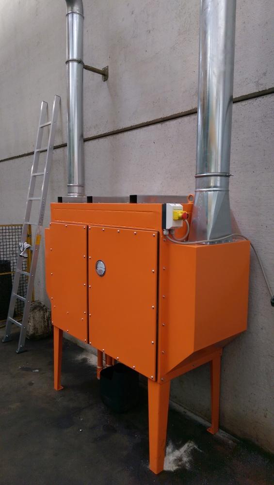 Impianti filtrazione nebbie oleose - 3