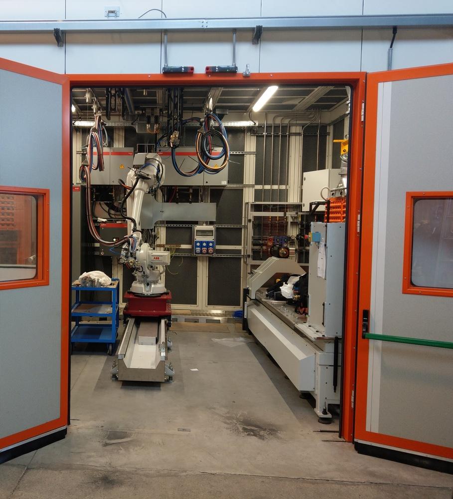 Cabina robot di metallizzazione - 10