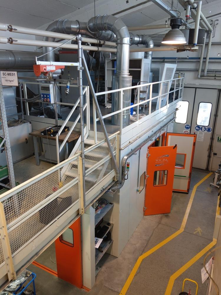 Cabina robot di metallizzazione - 9