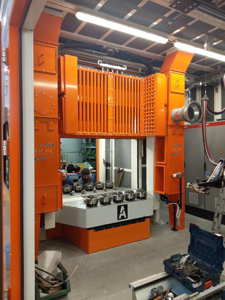 Cabina robot di metallizzazione - 4