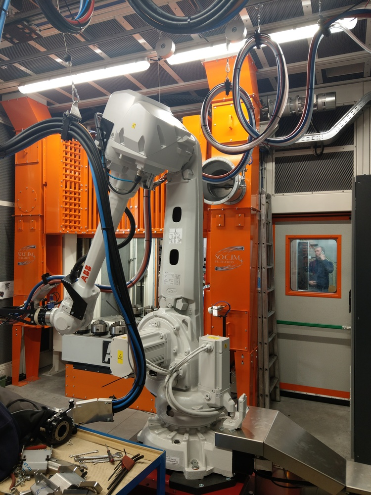 Cabina robot di metallizzazione - 6
