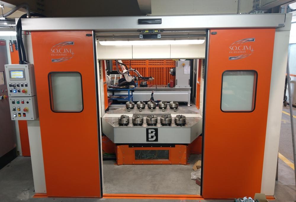 Cabina robot di metallizzazione - 3
