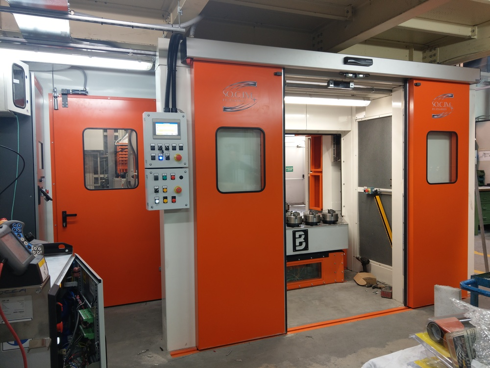 Cabina robot di metallizzazione - 2