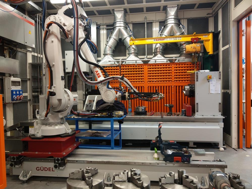 Cabina robot di metallizzazione - 7