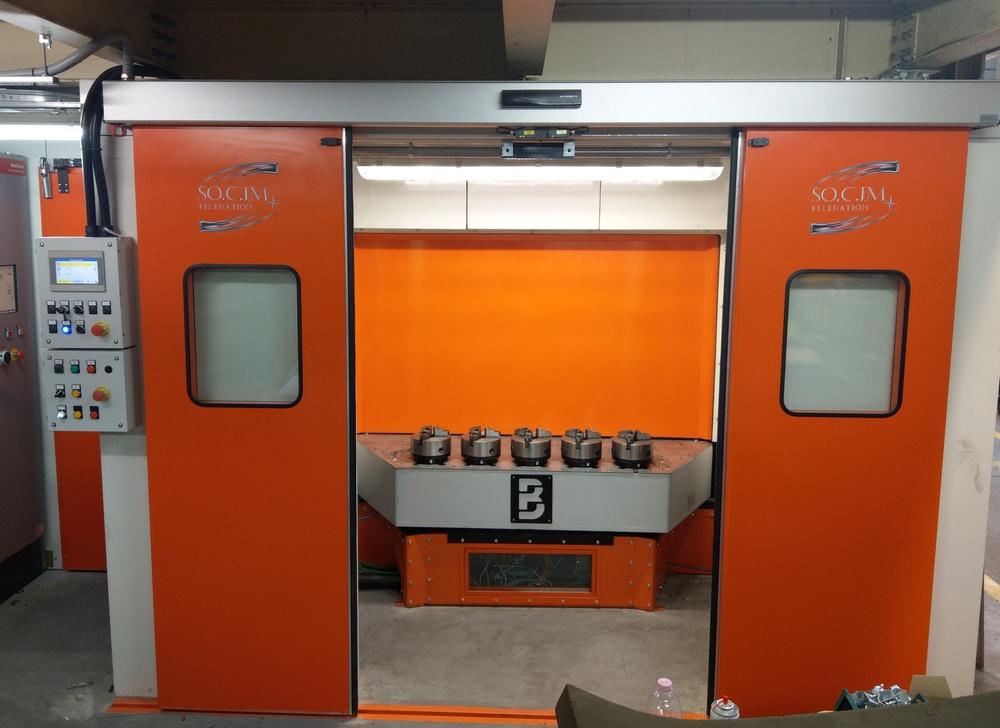 Cabina robot di metallizzazione - 1