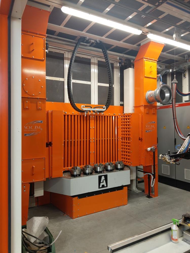Cabina robot di metallizzazione - 5