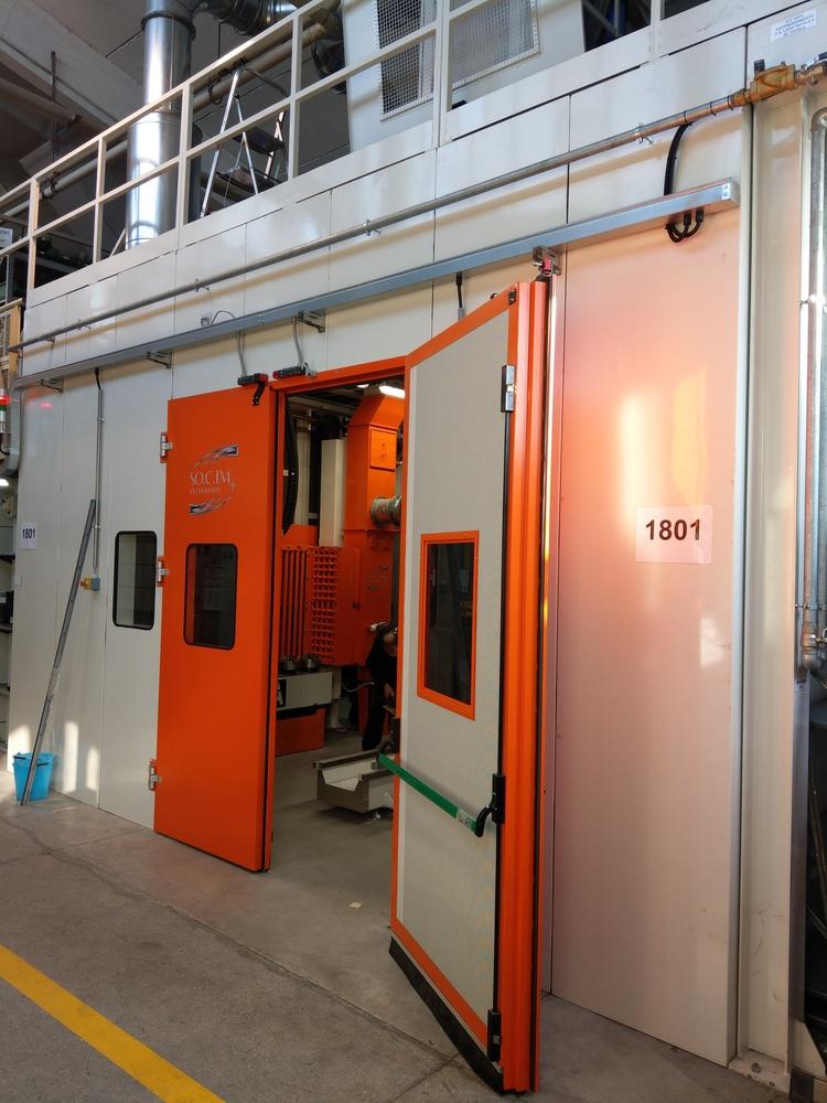 Cabina robot di metallizzazione - 8